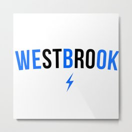 Russel Westbrook We B OK Metal Print