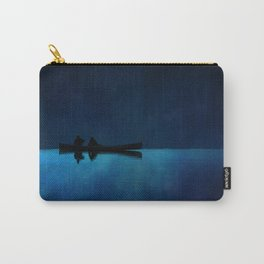 Canoe at Night Carry-All Pouch