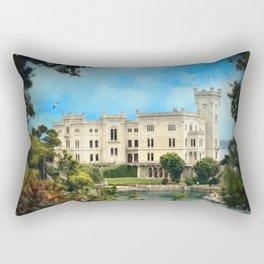 Castello Miramare Rectangular Pillow