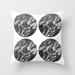 Moving Mountains | Rocky Mountains Throw Pillow