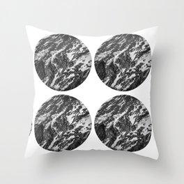 Moving Mountains | Rocky Mountains Throw Pillow