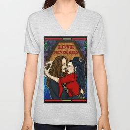 Love Never Dies Unisex V-Neck