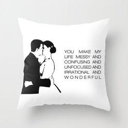 Brennan's Vows Throw Pillow