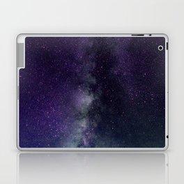 galaxy sky purple Laptop & iPad Skin