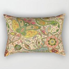 Embossed Floral Pattern Rectangular Pillow