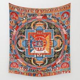 Mandala of Jnanadakini Tibetan Buddhism Wall Tapestry