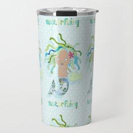 Water Fairy Mermaid Travel Mug