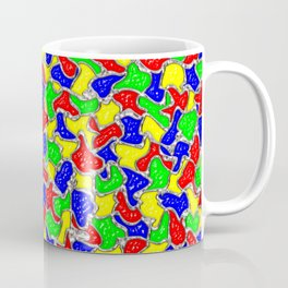 Stained Glass Mosaic Tiles Pattern Coffee Mug