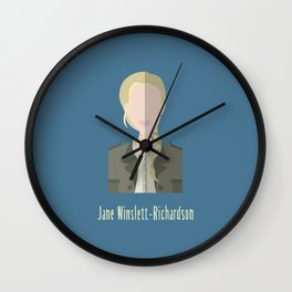 Jane Winslett-Richardson Wall Clock