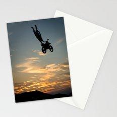 Kugimura Kota One Handing at Sun Set, FMX Japan Stationery Cards