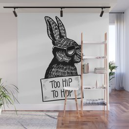 Too Hip To Hop Wall Mural