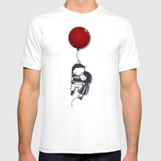 Grab On Mens Fitted Tee White SMALL
