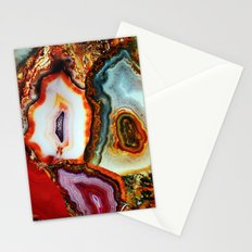 Agate, the Layers of our Earth Stationery Cards