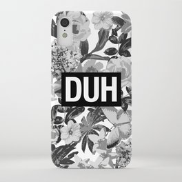 DUH B&W iPhone Case