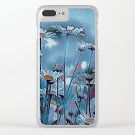 Those Hazy Days of Summer Clear iPhone Case