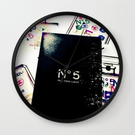Show Your Work Wall Clock