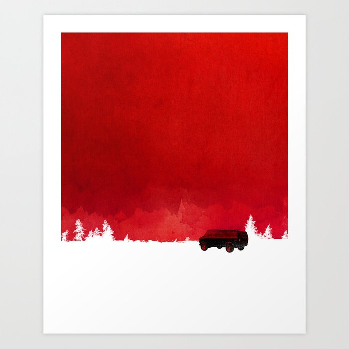 Discover the motif WAITING IN A VAN by Robert Farkas as a print at TOPPOSTER