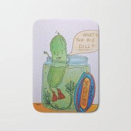 What's the Big Dill? Bath Mat