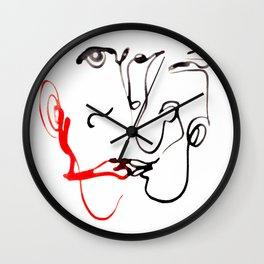 140102-2 LEROY Wall Clock