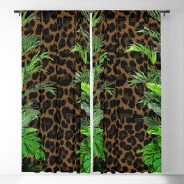 Jungle Leopard Blackout Curtain