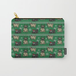 CHRISTMAS PUG Carry-All Pouch