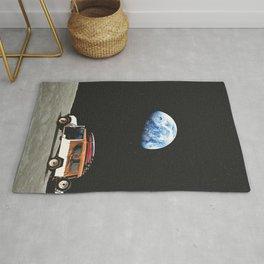 Lunar rover Rug