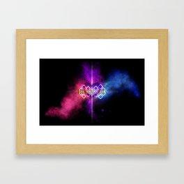 Reuniting Souls Framed Art Print