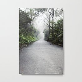 fog in the distance Metal Print