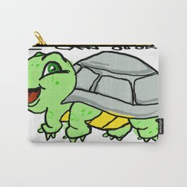 childish turtle  Carry-All Pouch