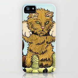 Hang in there manticore! iPhone Case