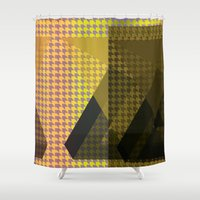 triangle Shower Curtains featuring Triangle** by Mr & Mrs Quirynen