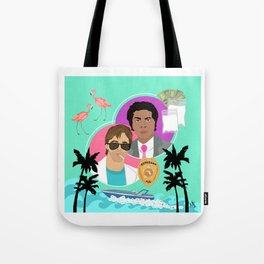 Miami Vice: Crockett and Tubbs Tote Bag