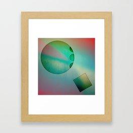 NO STUMBLE Framed Art Print