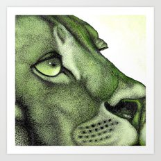 The Crooning Cougar Part 1 Art Print