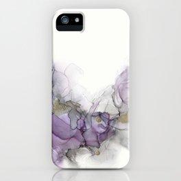 Study in Purple iPhone Case