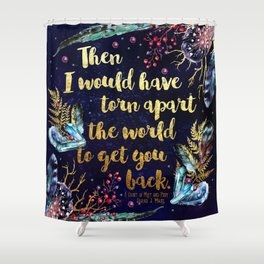 ACOMAF - Torn Apart The World Shower Curtain