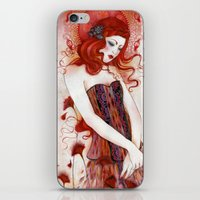 aurora iPhone & iPod Skins featuring Aurora by Minasmoke