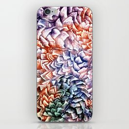 Artichokes and Pangolins Bright iPhone Skin