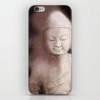 buddah iPhone & iPod Skins featuring Buddah 1 by Linda K. Photography & Design