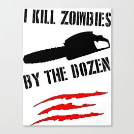 zombie funny Canvas Print