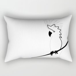 Cockatoo in line Rectangular Pillow