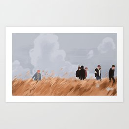 you never walk alone Art Print