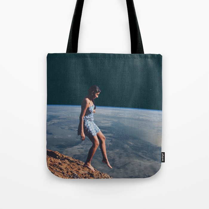 Going to Unknown World Tote Bag