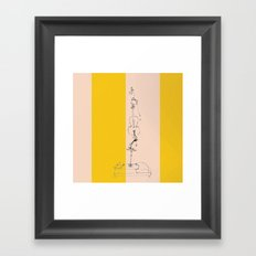 Life With PCO [REMIX] Framed Art Print