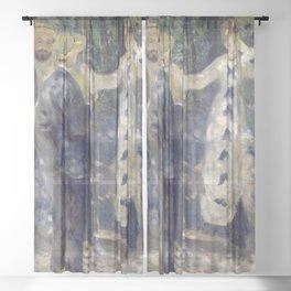 Pierre-Auguste Renoir - The Swing Sheer Curtain