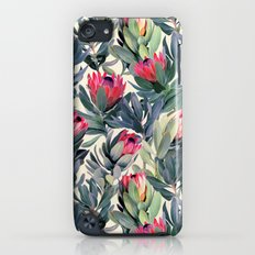 Painted Protea Pattern Slim Case iPod touch