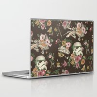 family Laptop & iPad Skins featuring Botanic Wars by Josh Ln