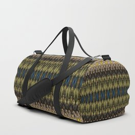 Daraf - Decorative stripes D of Alphabet collection Duffle Bag