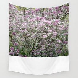 Purple Sage Brush Wall Tapestry