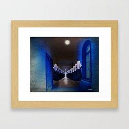 Les Prieuses Framed Art Print